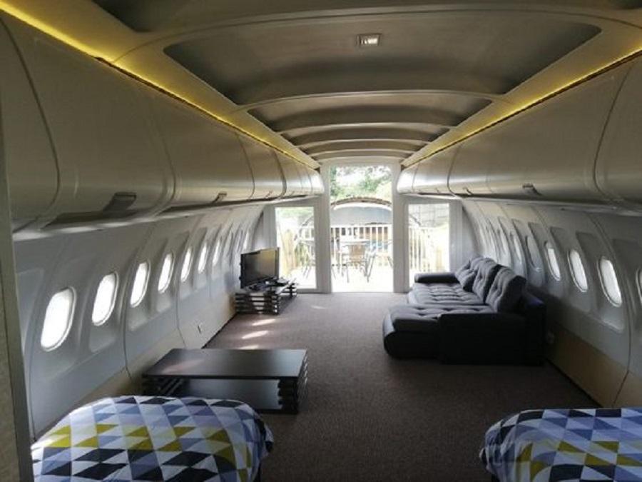 Camping aereo