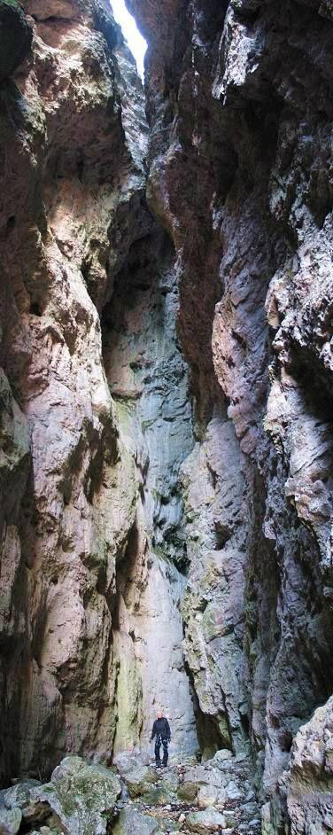 Canyon del Burrone Giovanelli