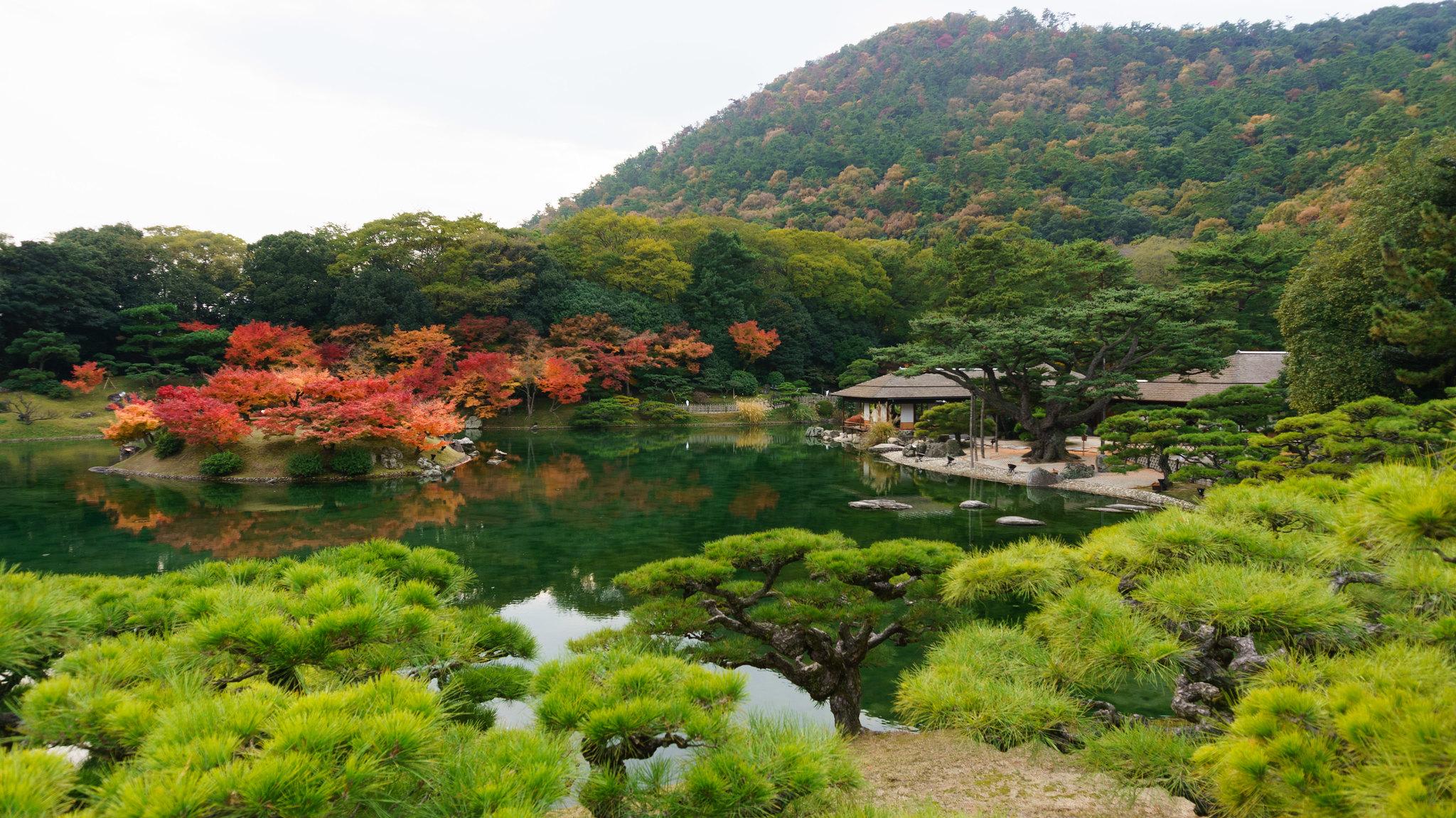 giardino panoramico giapponese