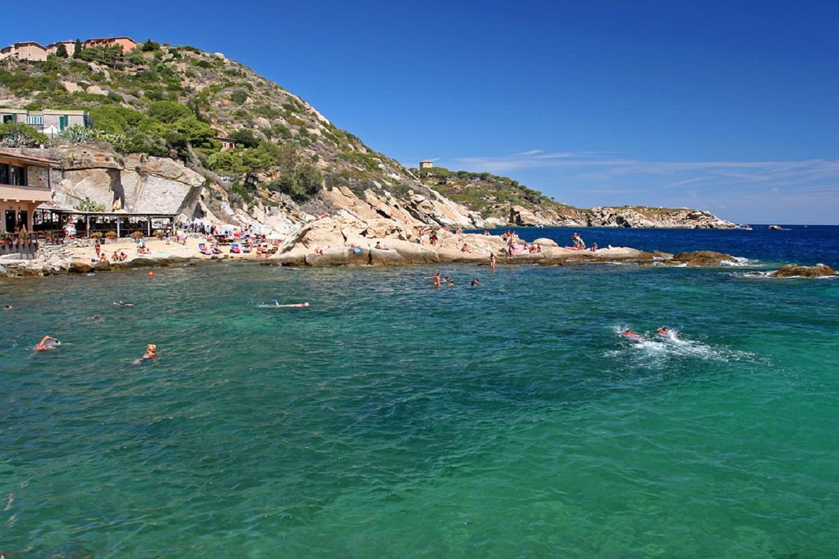isola del giglio spiagge per cani