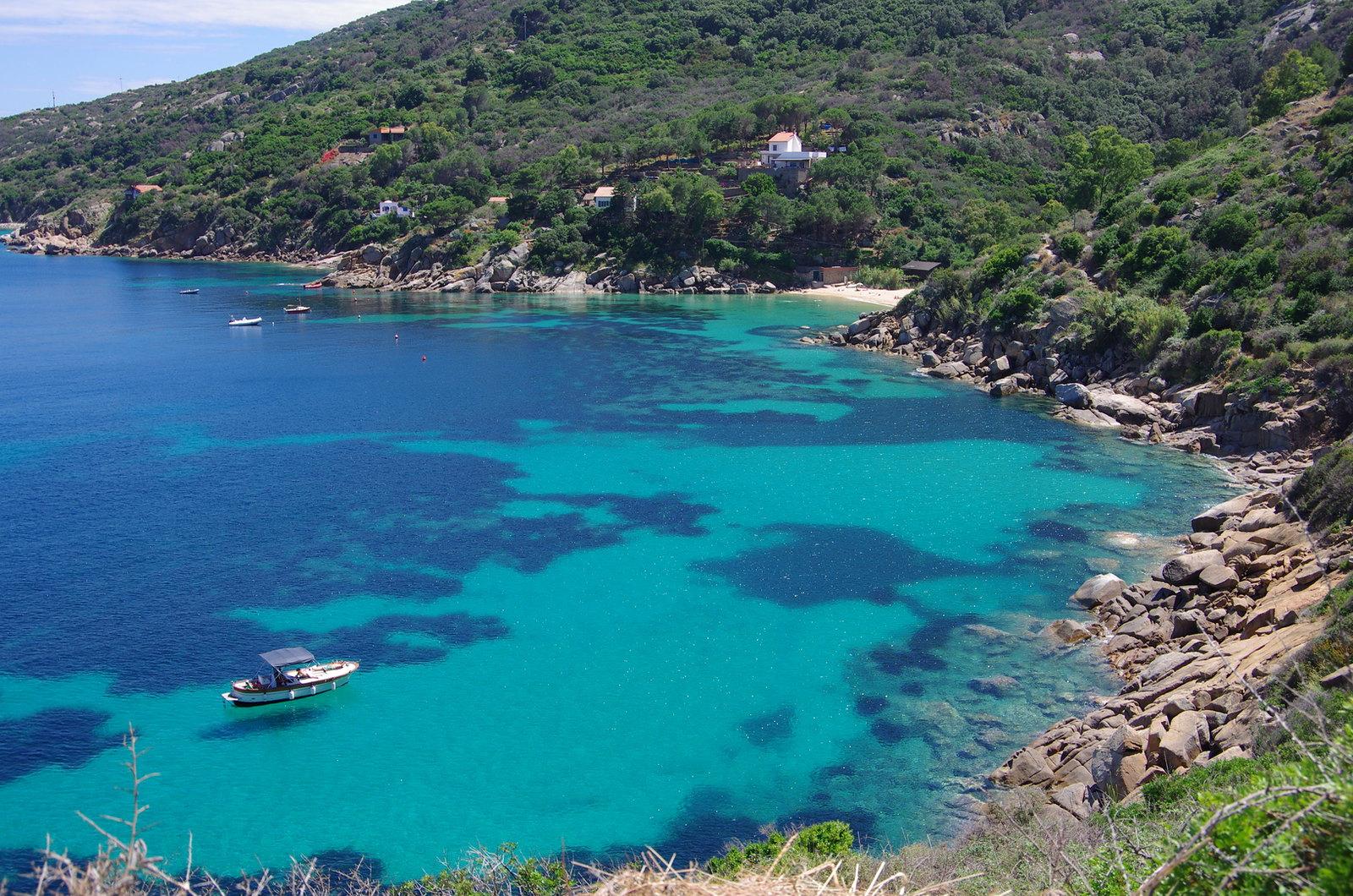isola del giglio spiagge più belle