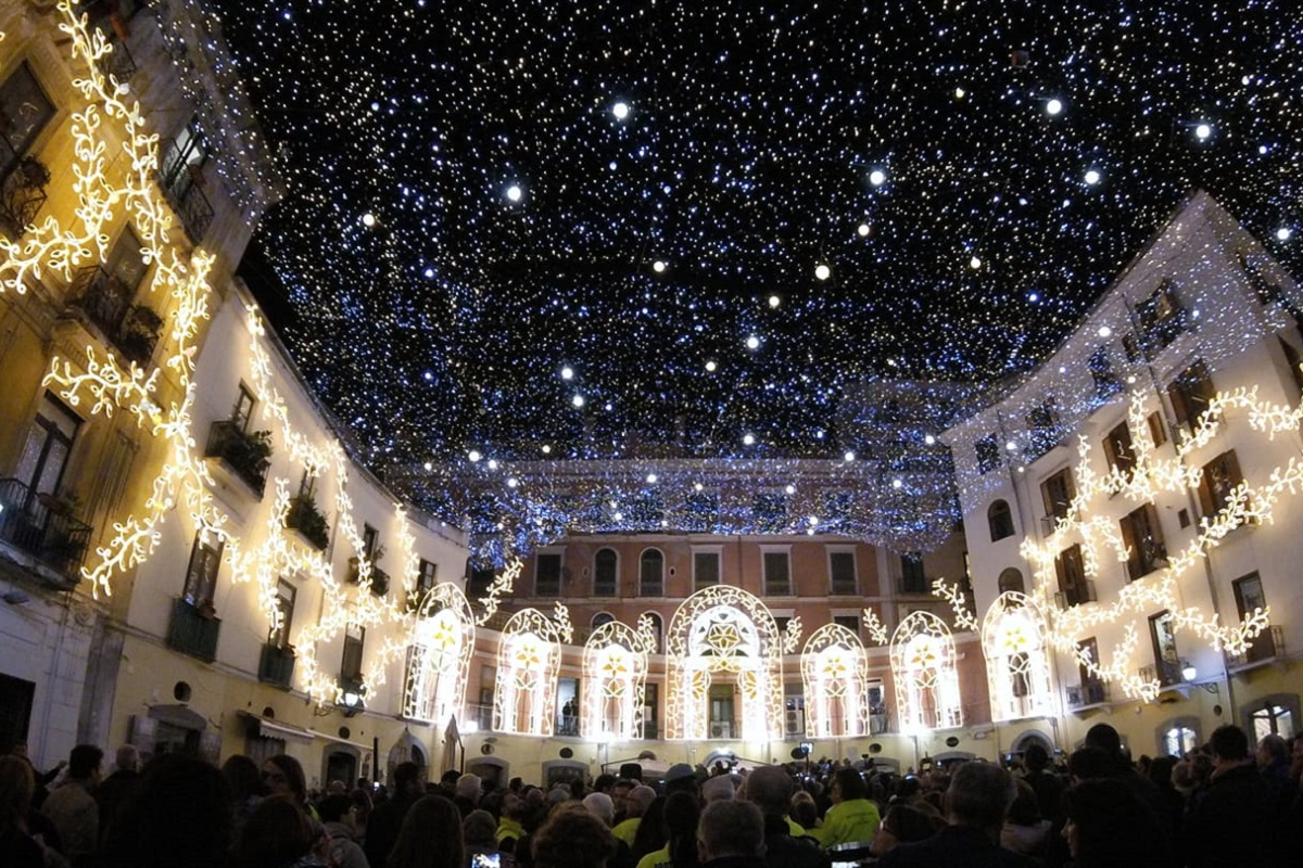 Luminarie Salerno 2021