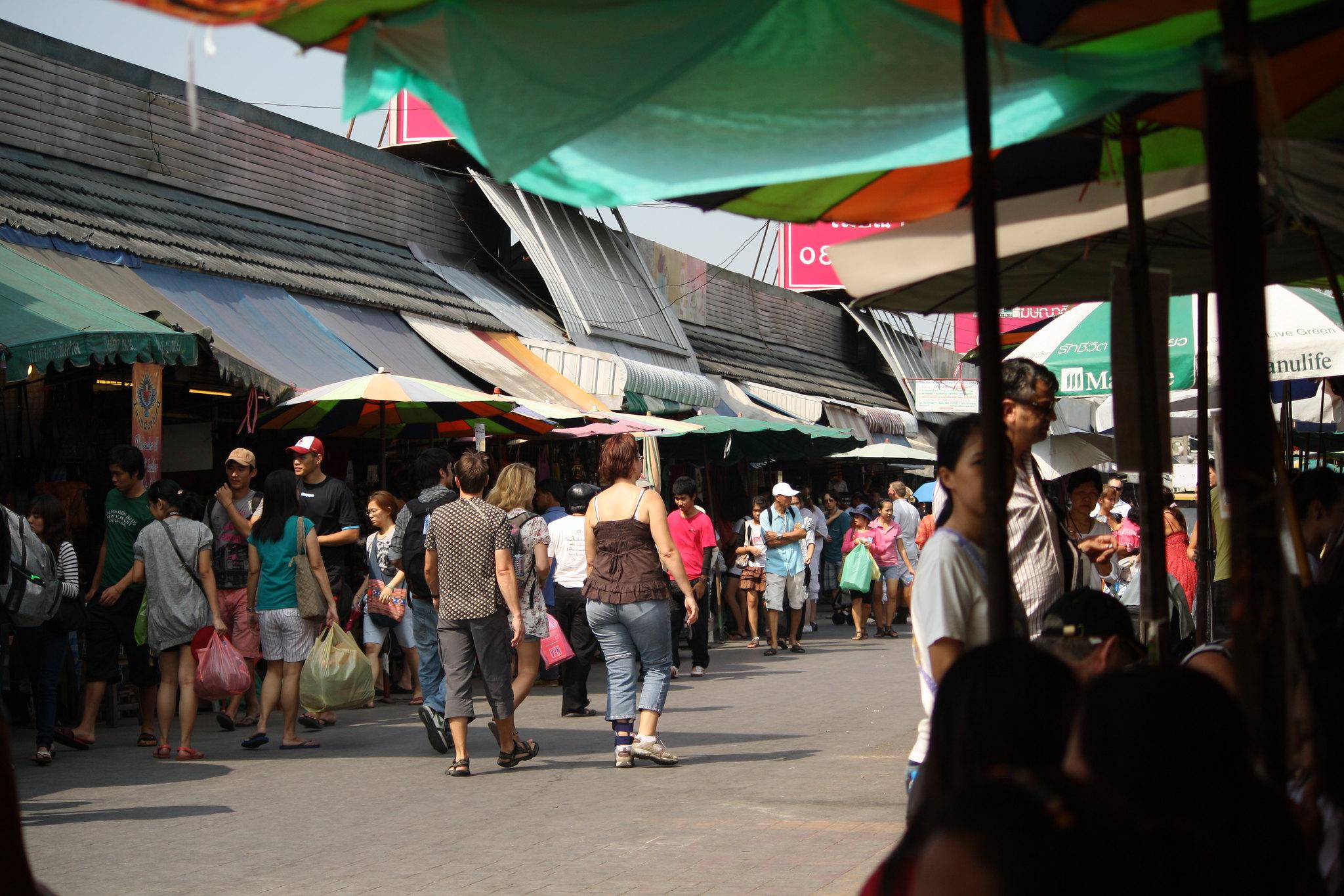 mercato di chatuchak bangkok