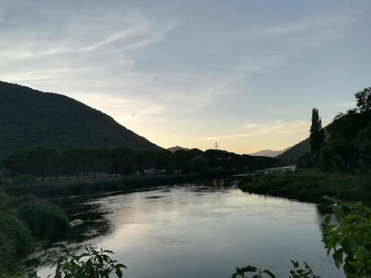 parco fluviale del nera trekking