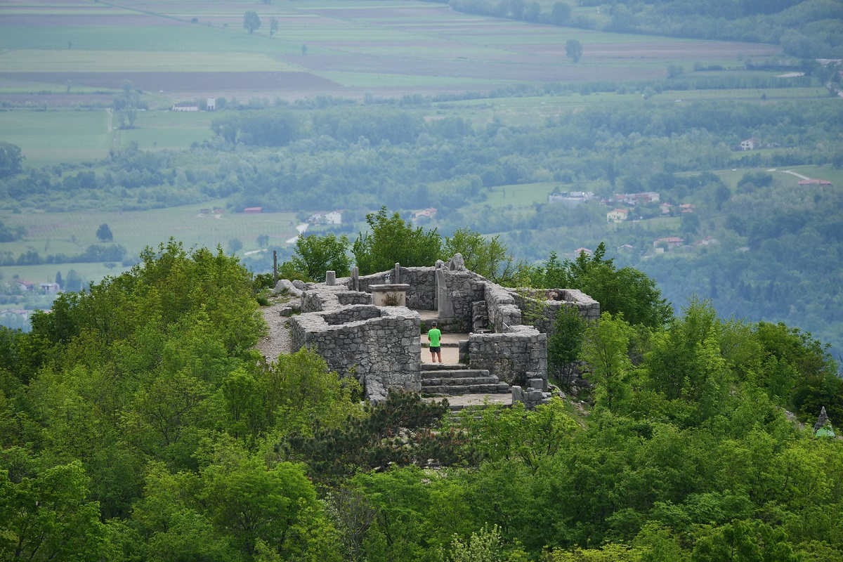 sentiero della pace slovenia tappe