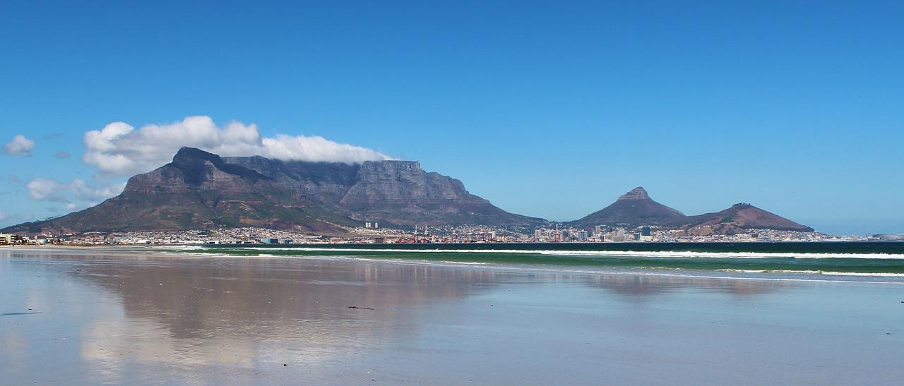 table mountain in sudafrica