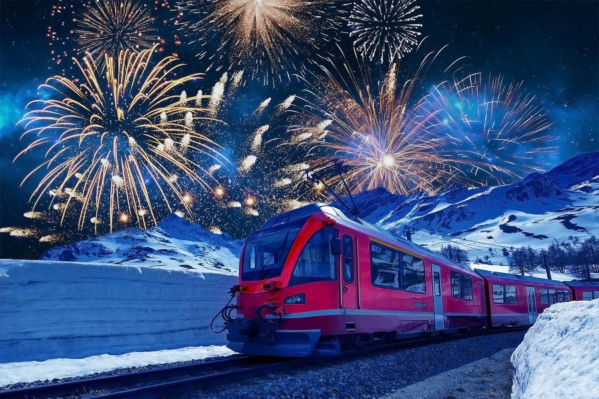 Trenino del Bernina Capodanno 2020