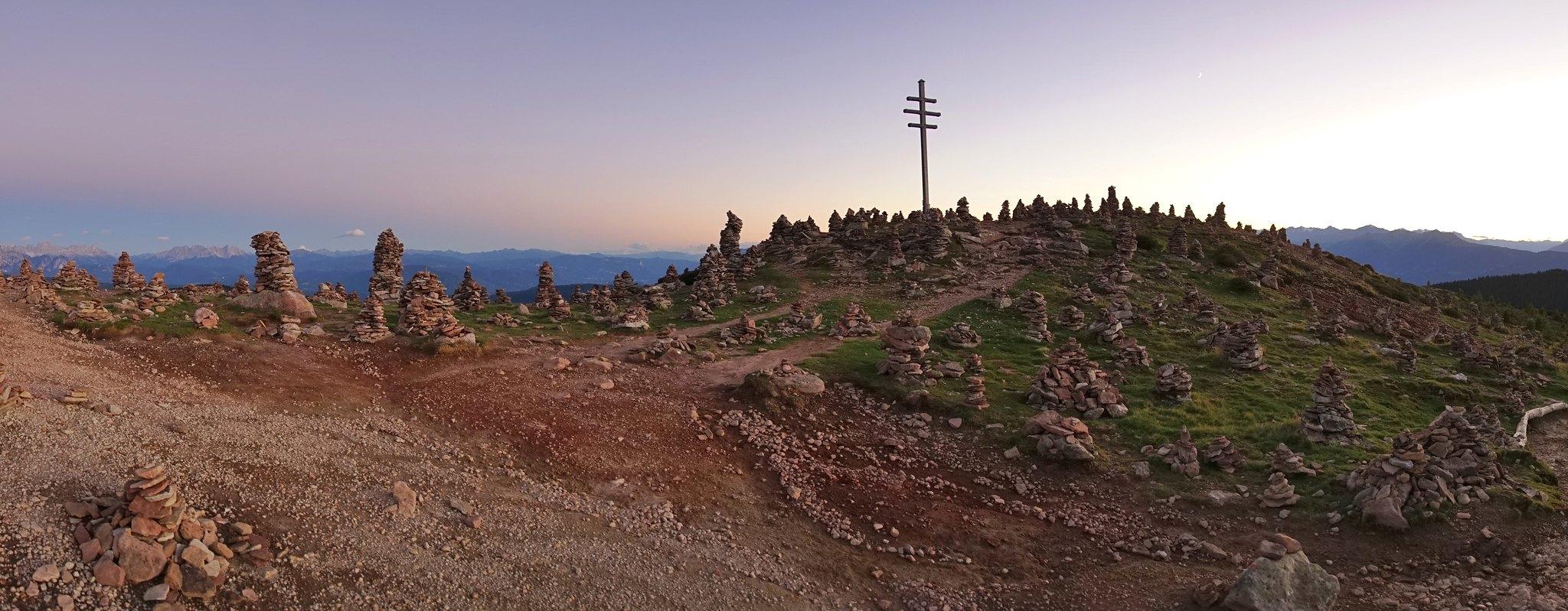 val sarentino escursioni omini di pietra