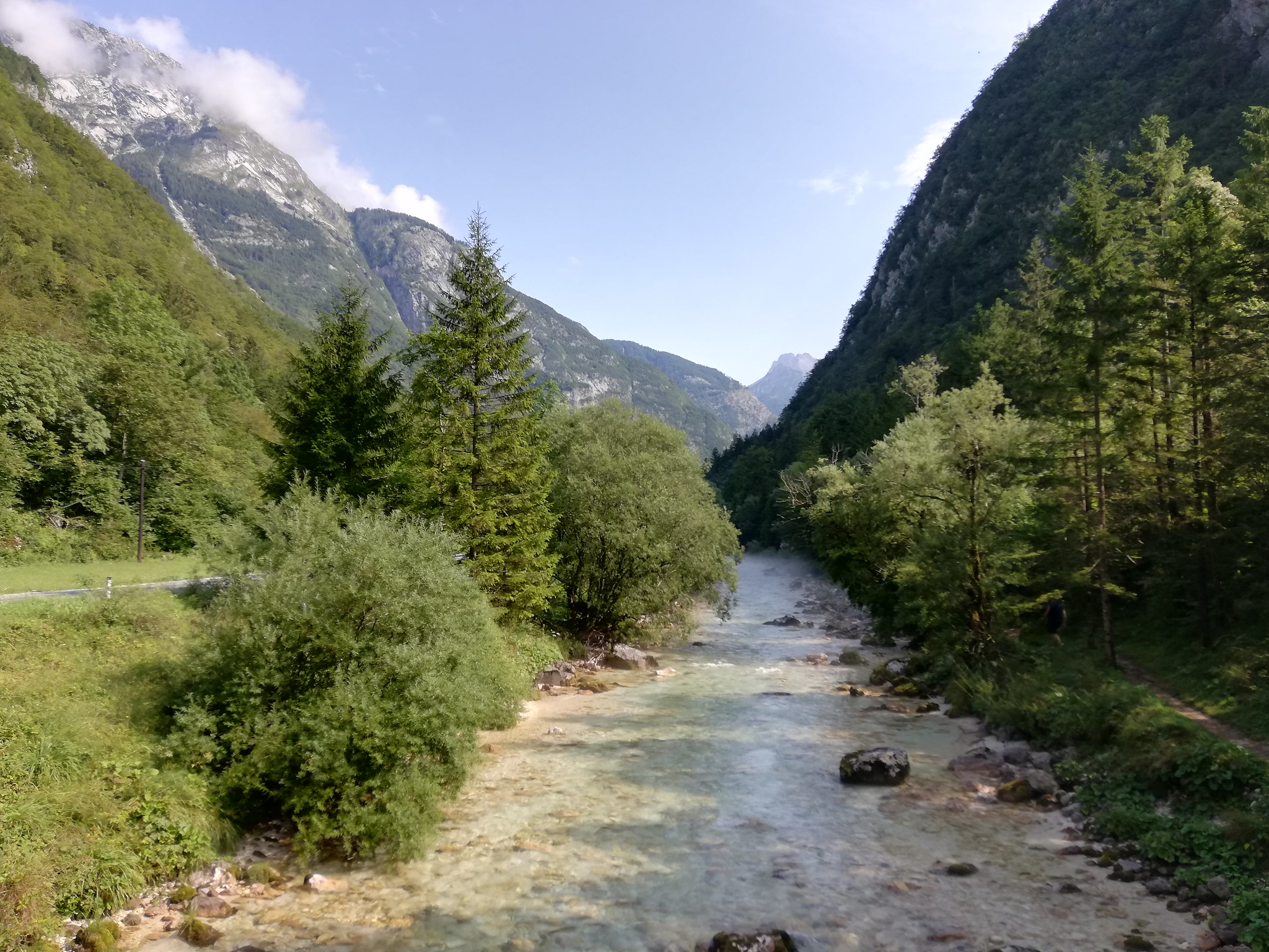 valle dell isonzo in bici