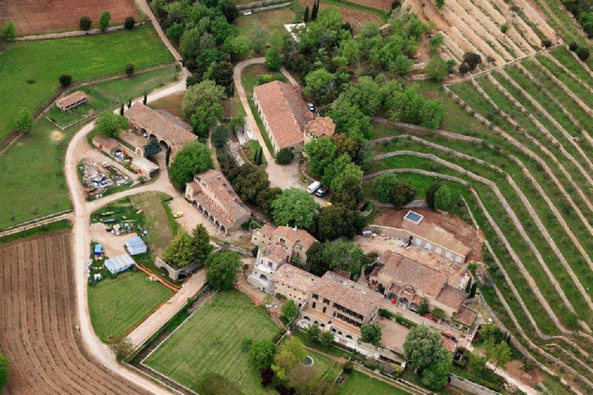 villaggio di correns