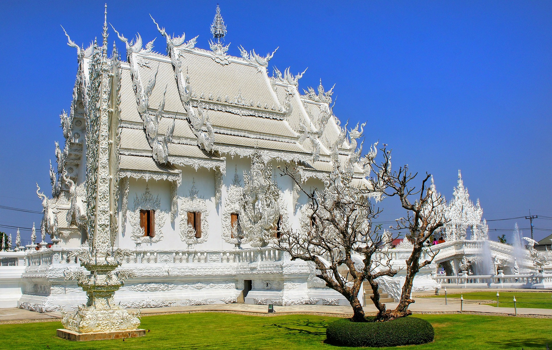 wat rong khun tempio bianco thailandia