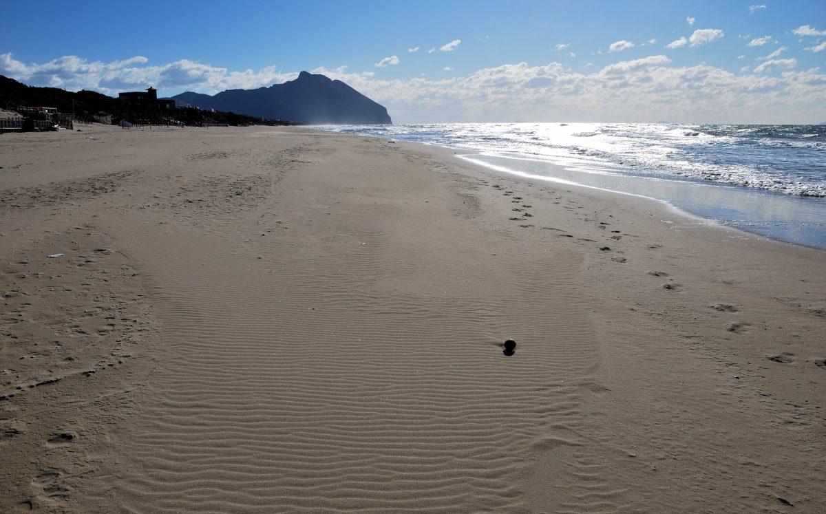 spiaggia delle dune sabaudia