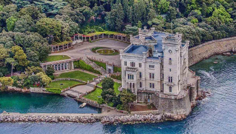 Miramare castello, Trieste