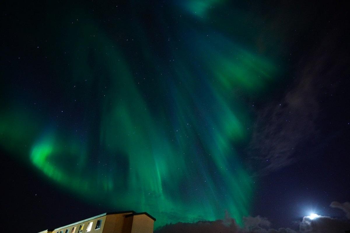 Aurora boreale Danimarca quando