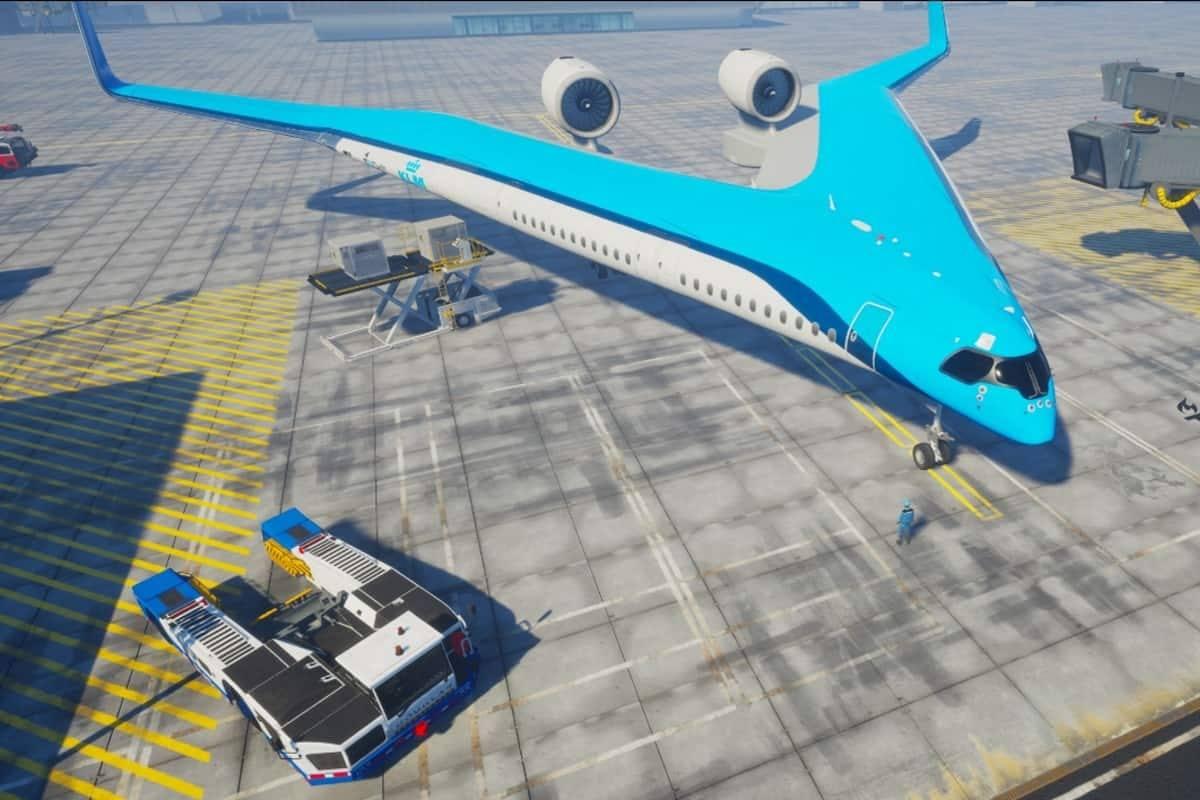 flying v aereo