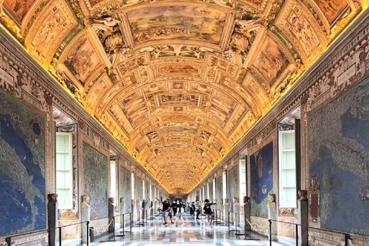 Gallerie delle Carte Geografiche Musei Vaticani