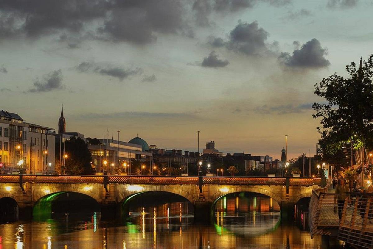 Grattan Bridge Dublino
