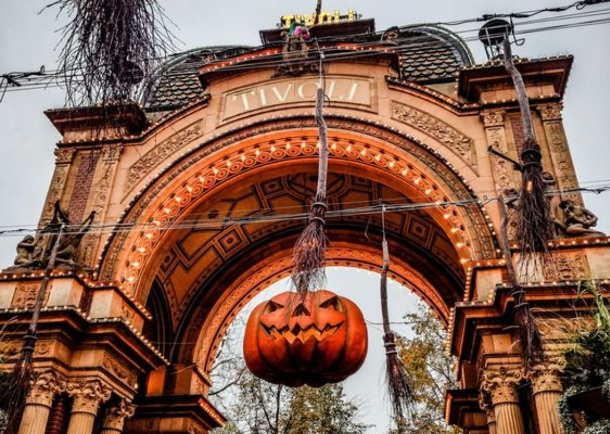 halloween tivoli copenaghen 2020