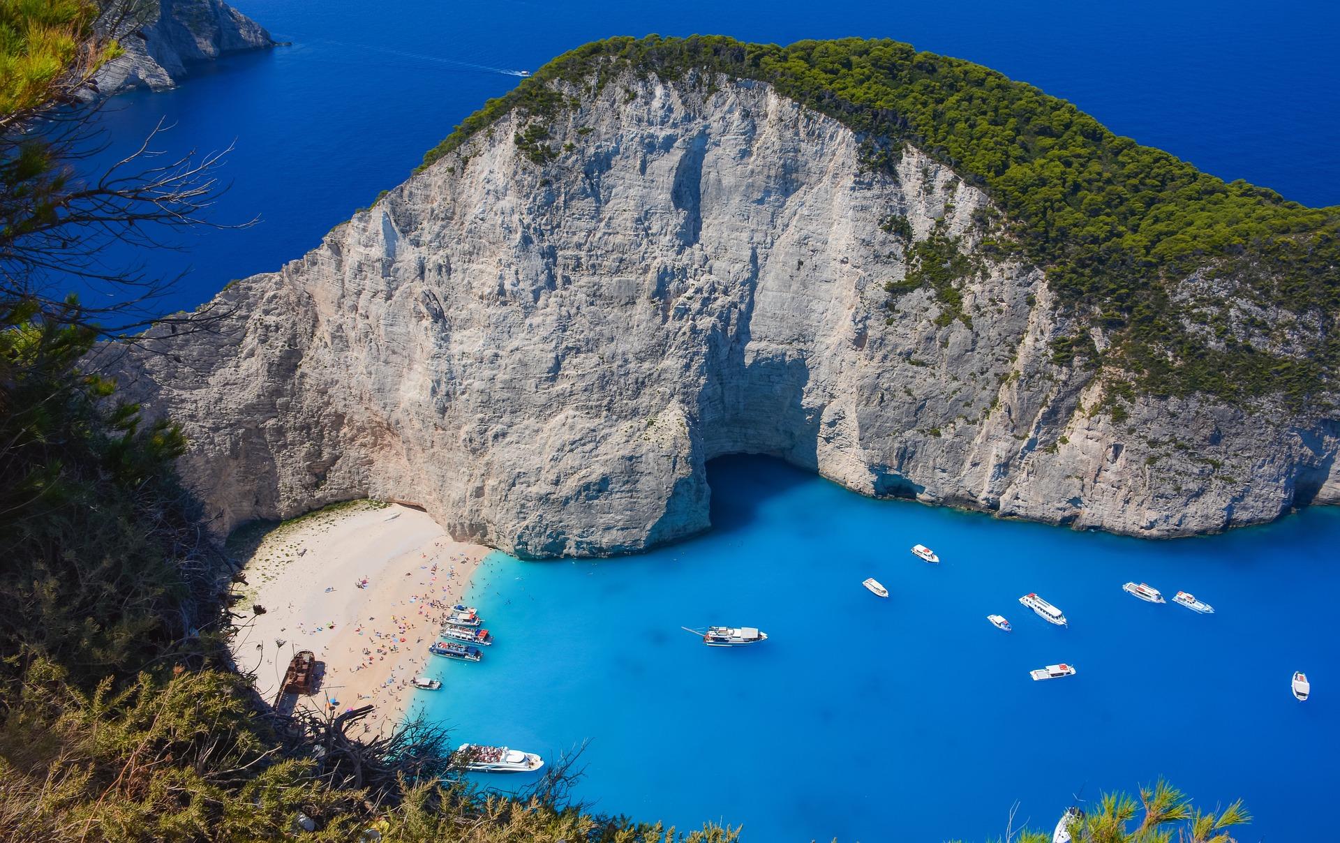isole greche in autunno