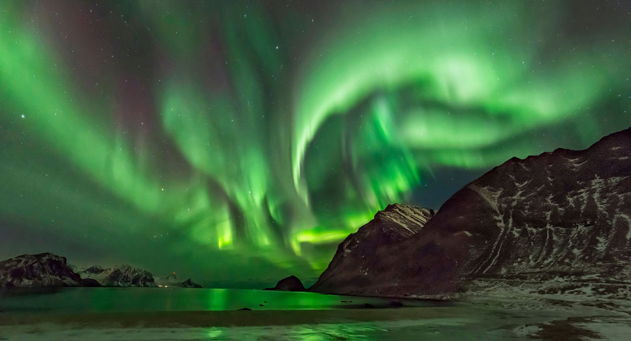 isole lofoten aurora boreale quando