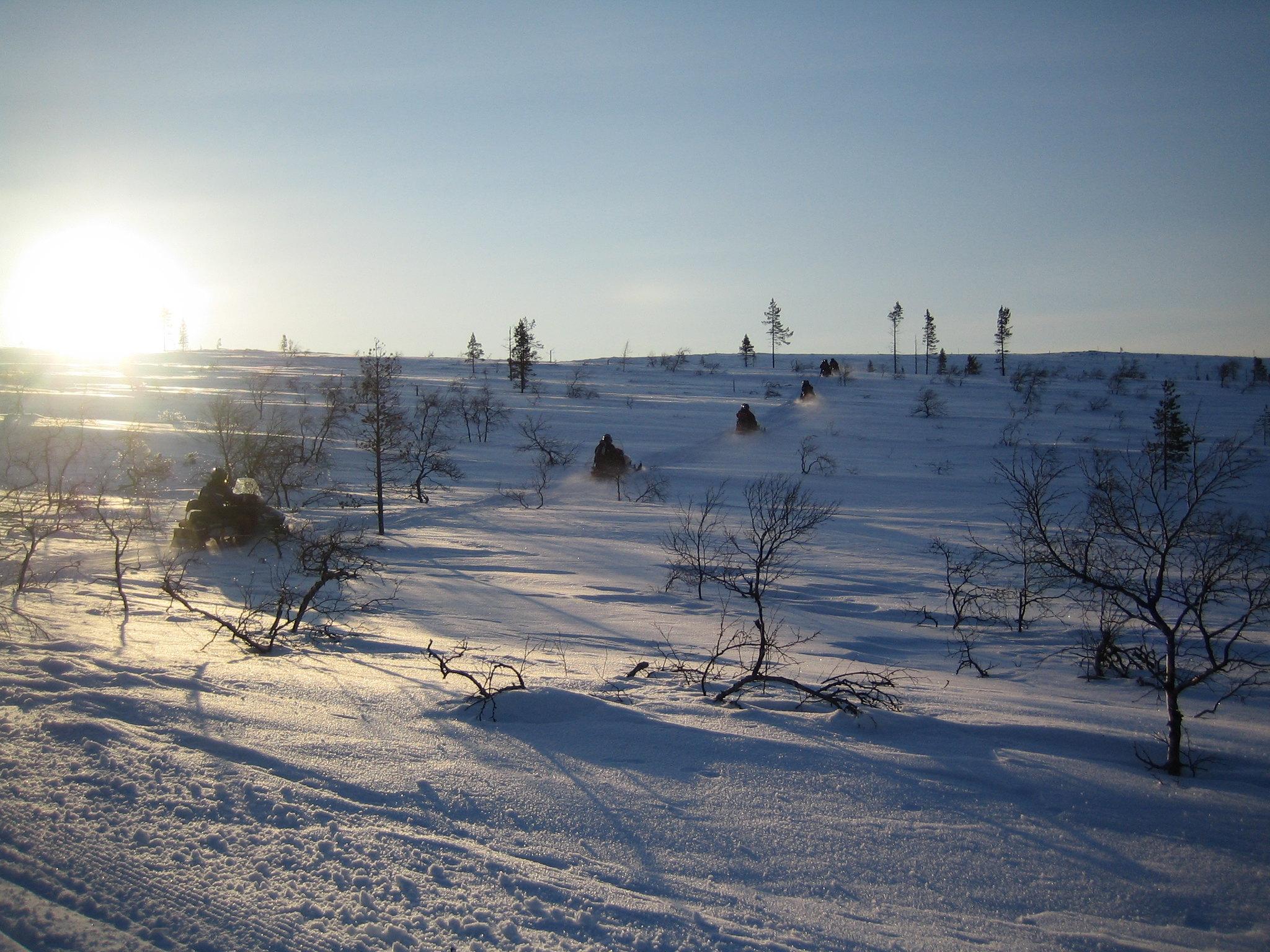 lapponia finlandese inverno