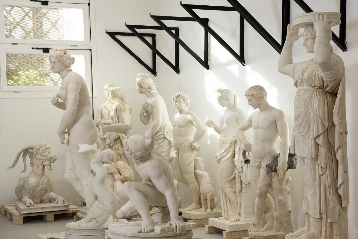 Marmi Torlonia mostra Roma