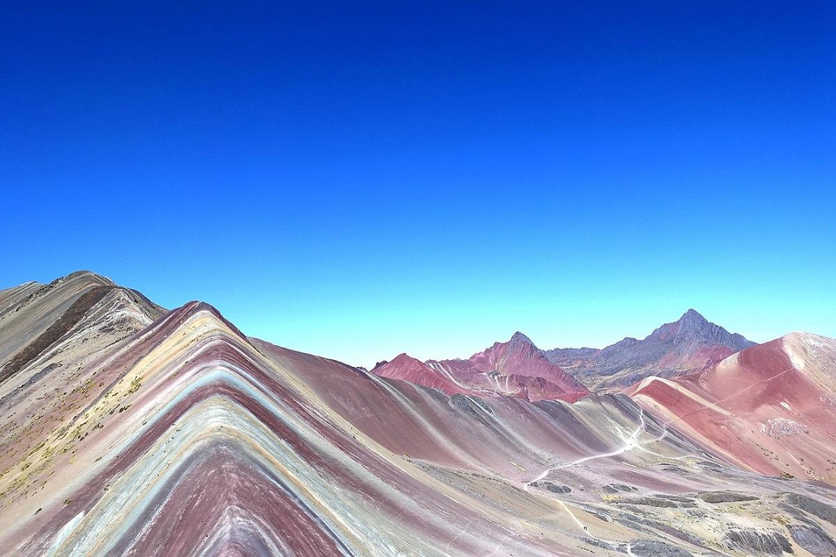 Montagna arcobaleno Perù