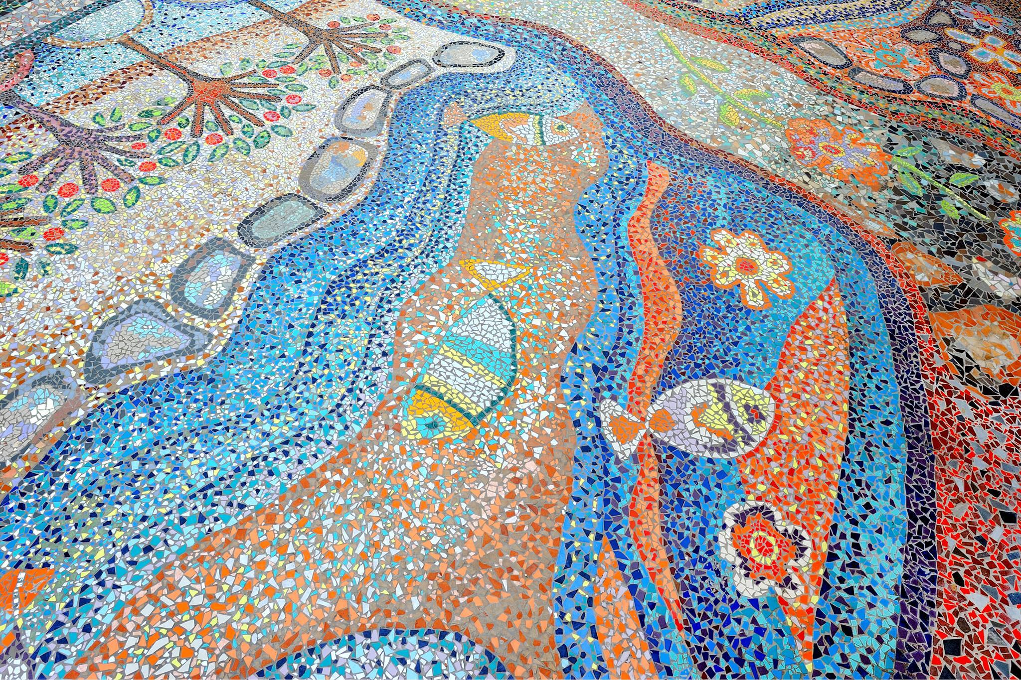 mosaico più grande del mondo