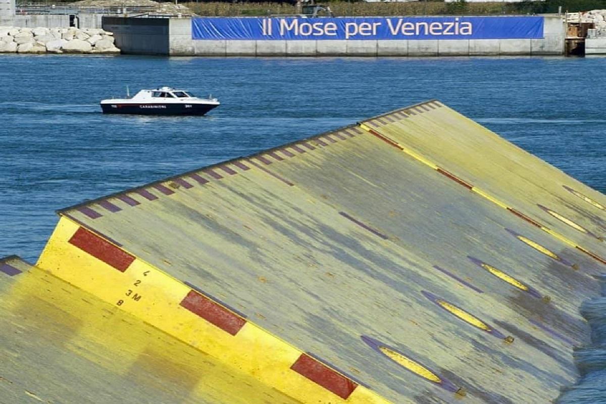 Mose Venezia come funziona