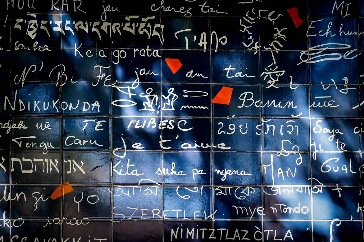 Muro ti amo Parigi