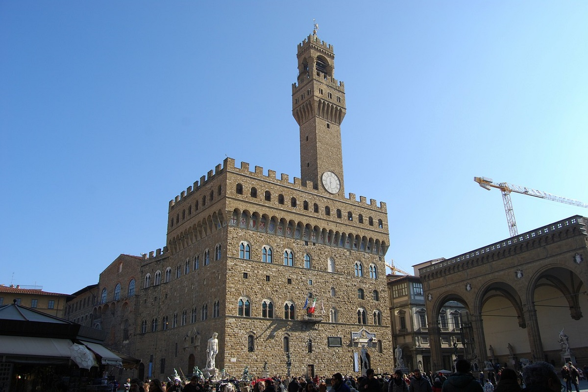 Palazzo Vecchio Firenze storia