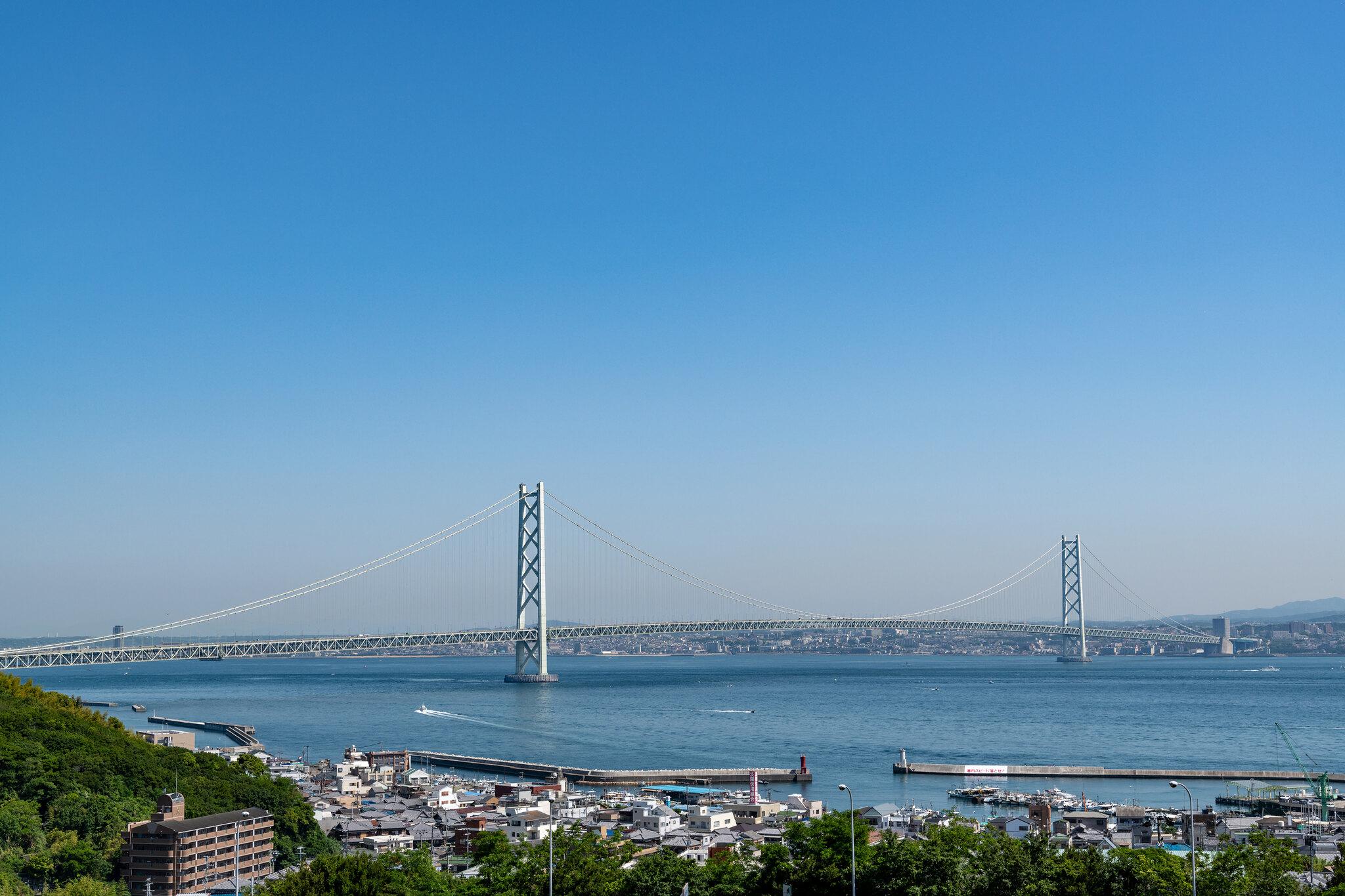 ponte sospeso pi lungo del mondo giappone