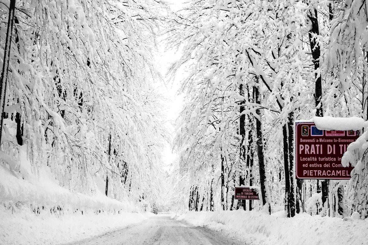 Prati di Tivo inverno