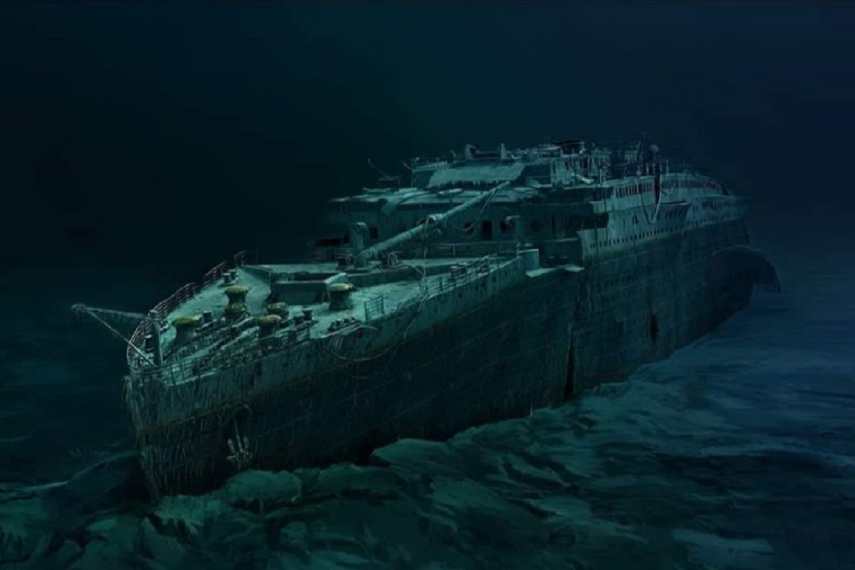 Relitto Titanic oggi