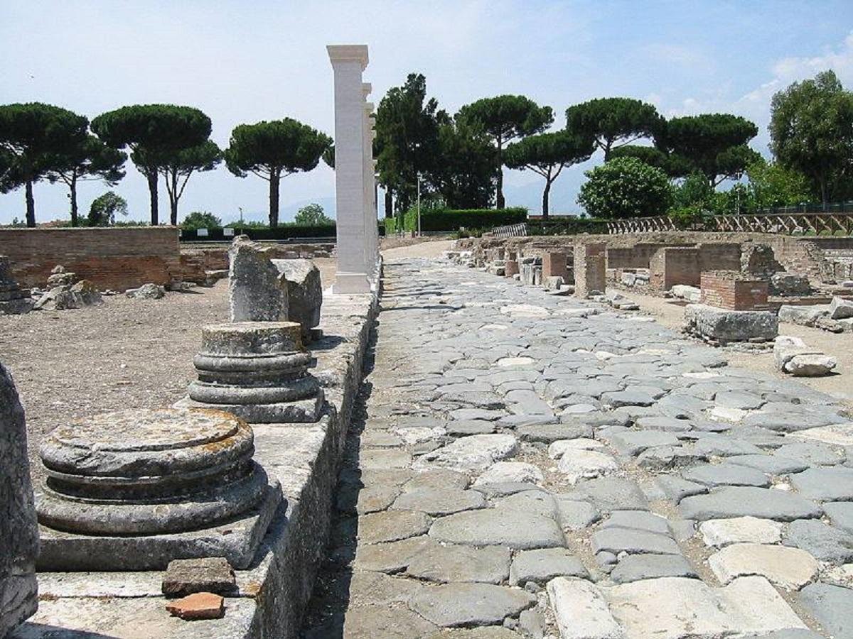 sito archeologico minturnae