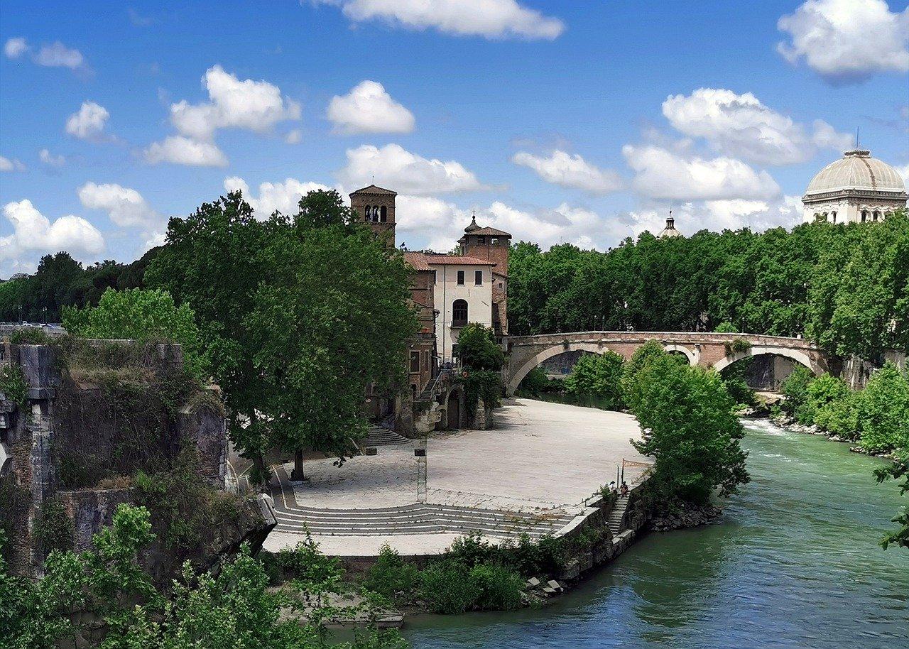 Ponte Fabricio, Roma