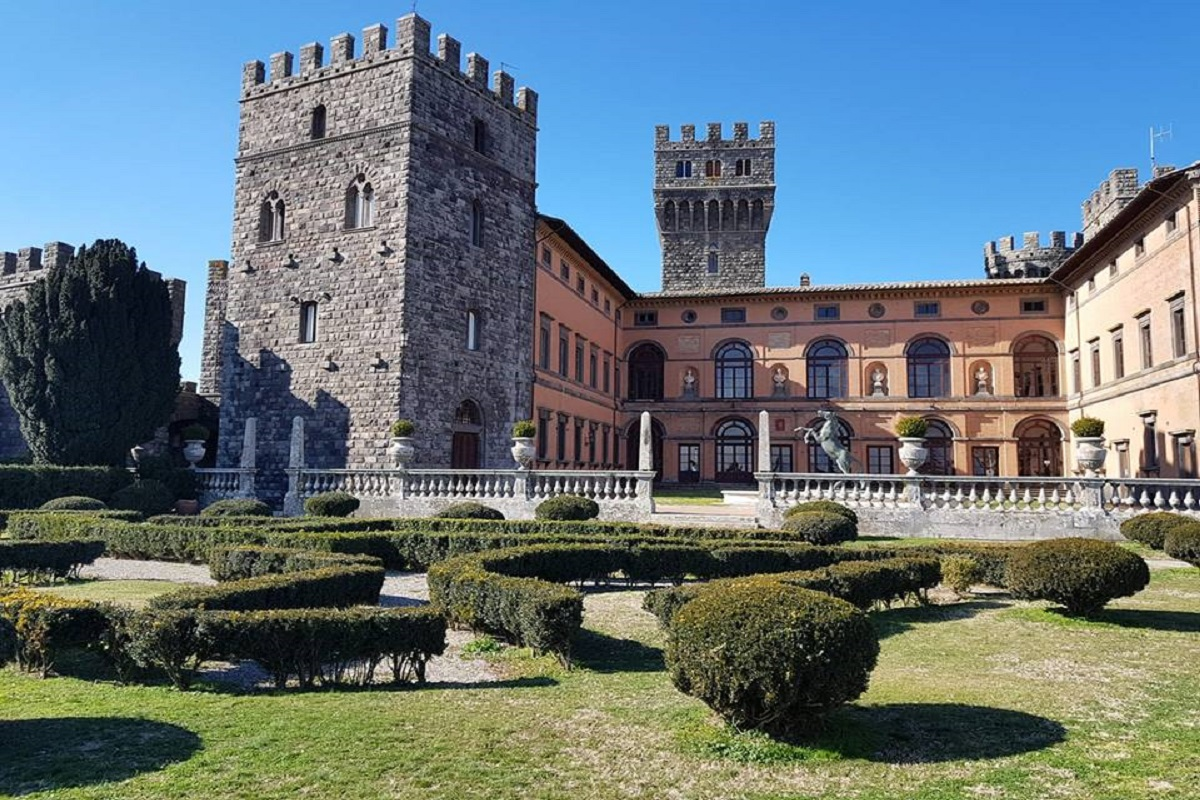 Torre Alfina castello storia