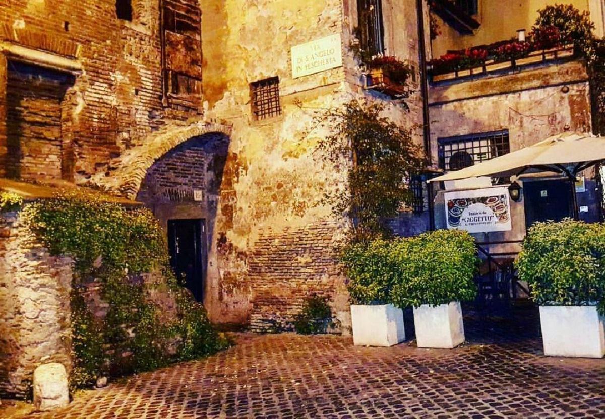 tour ghetto ebraico roma