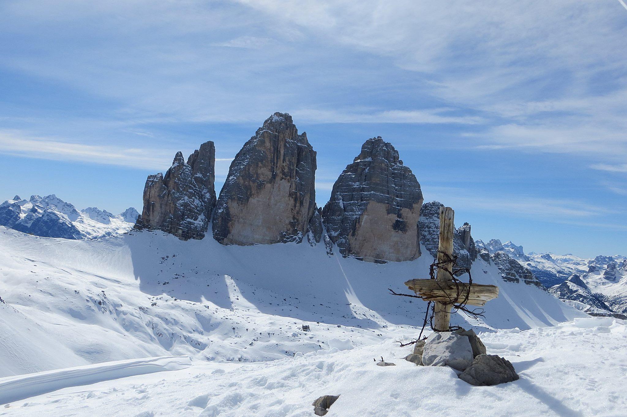 tre cime di lavaredo escursioni invernali