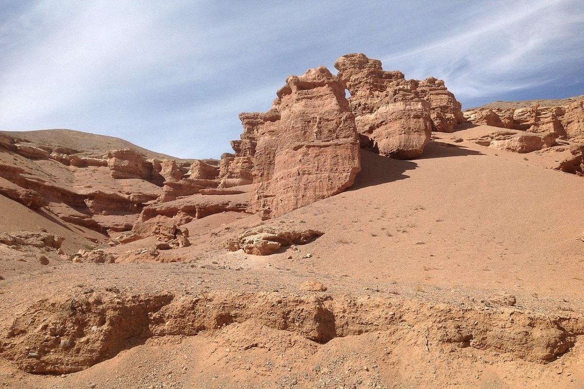 Valle dei castelli Kazakhstan