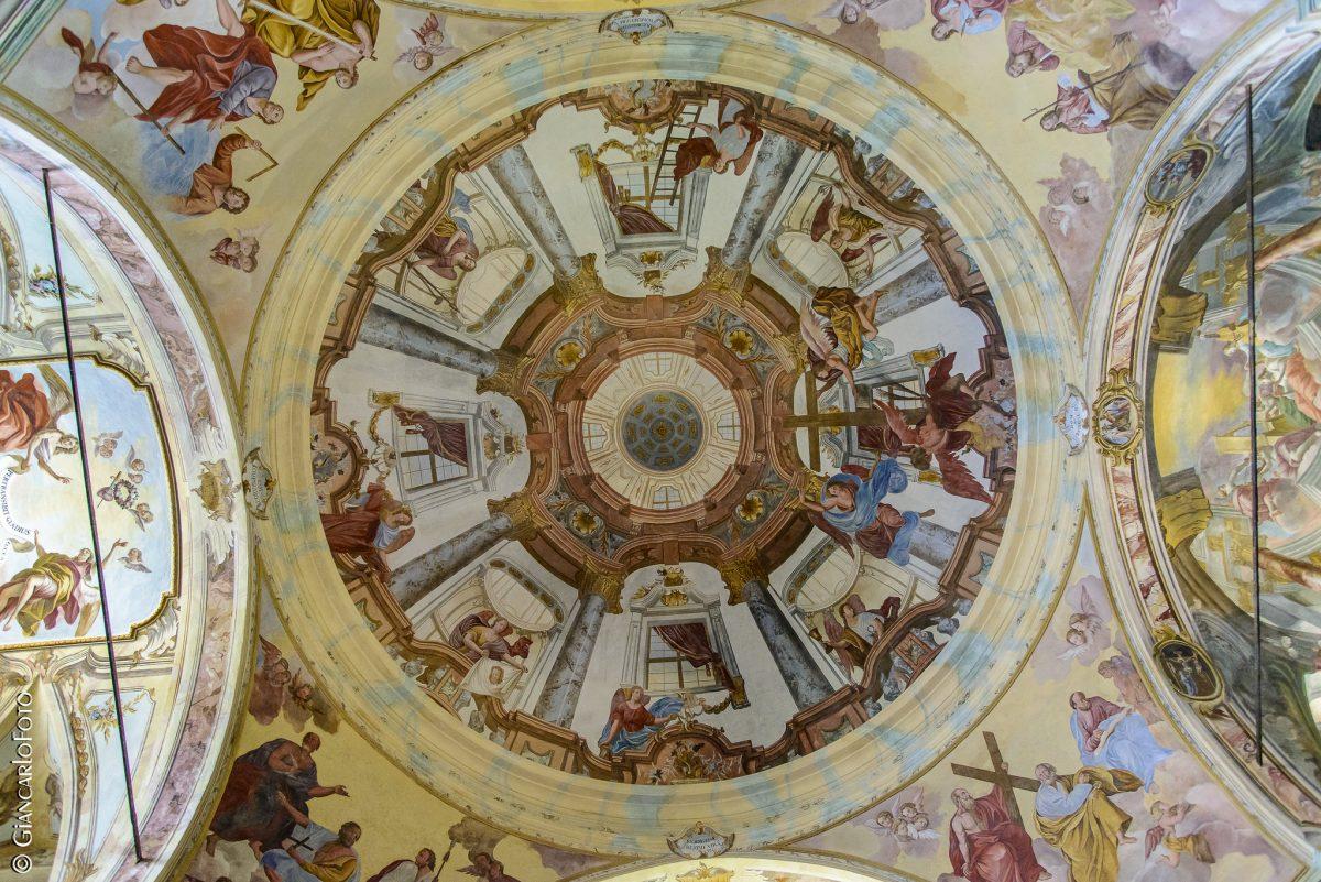 santuario madonna del sasso cupola