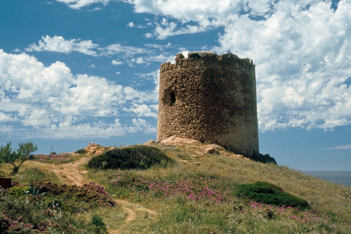 torre spagnola isola rossa