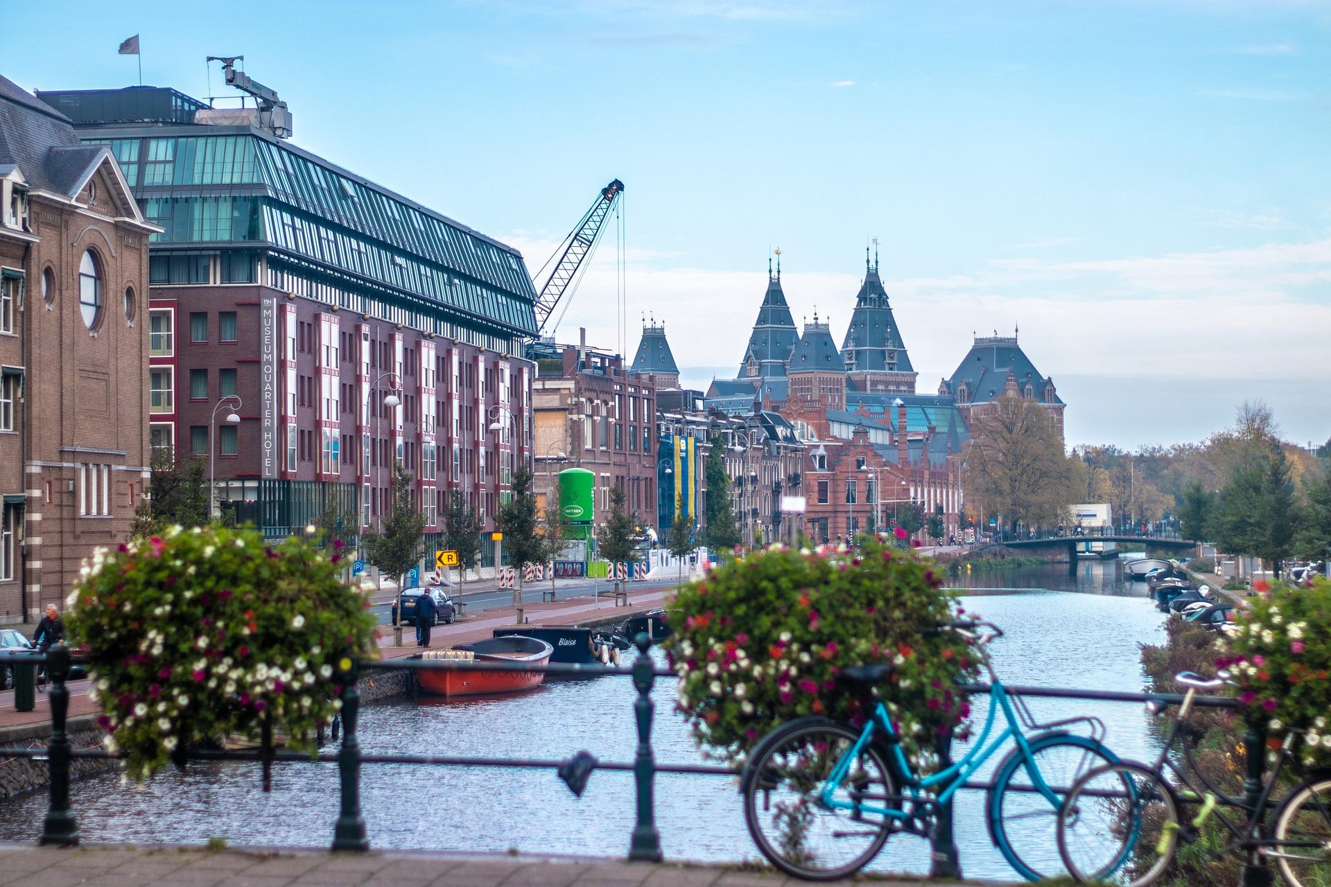 amsterdam strasburgo in bici