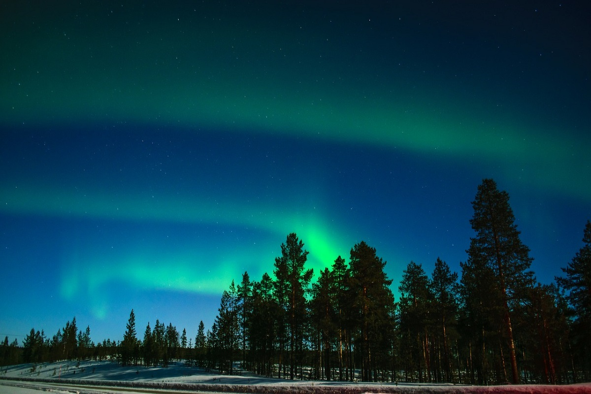 Aurora boreale streaming