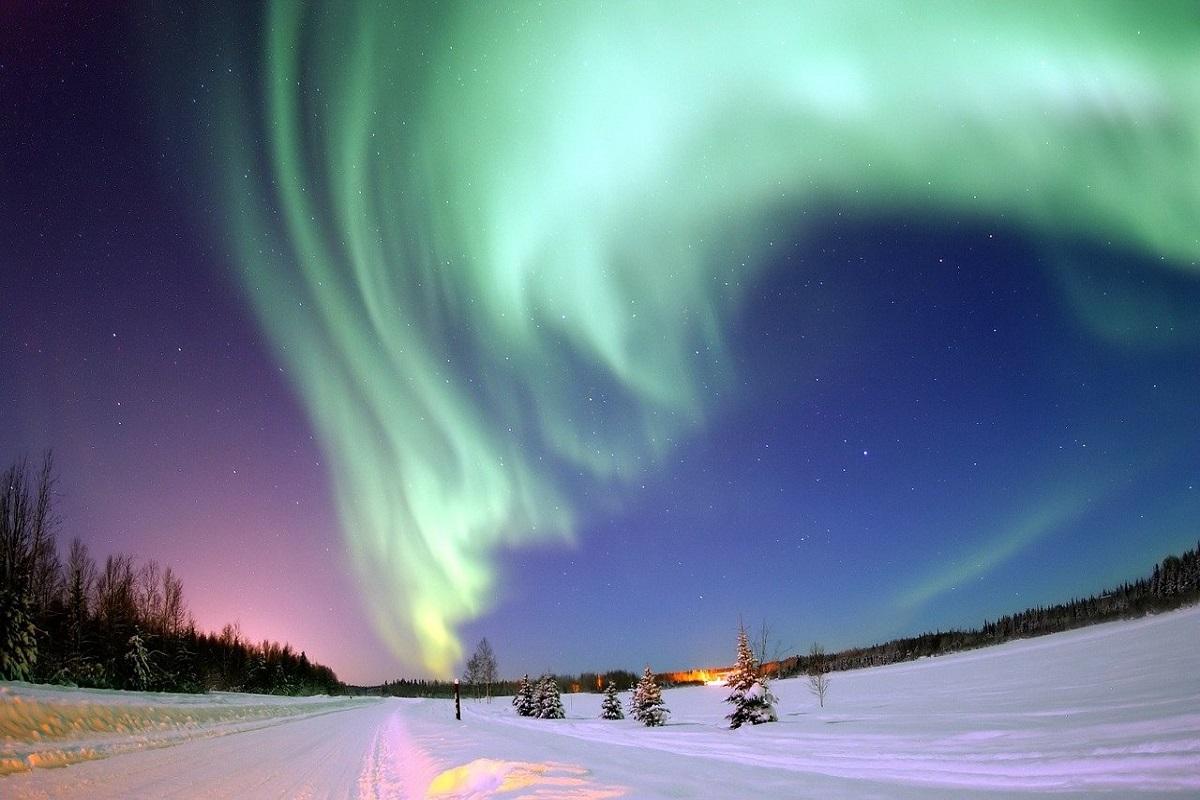 Dare nome aurora boreale