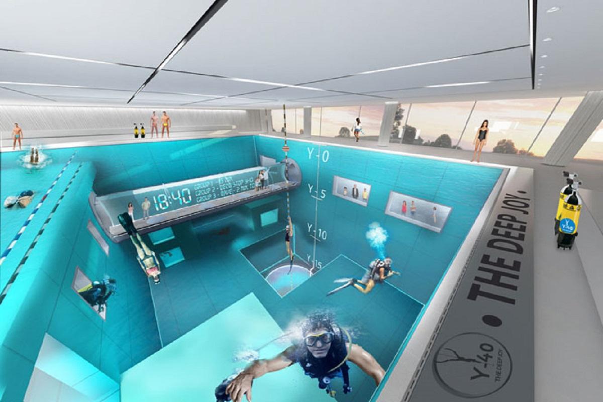 Montegrotto Terme piscina profonda 40 metri