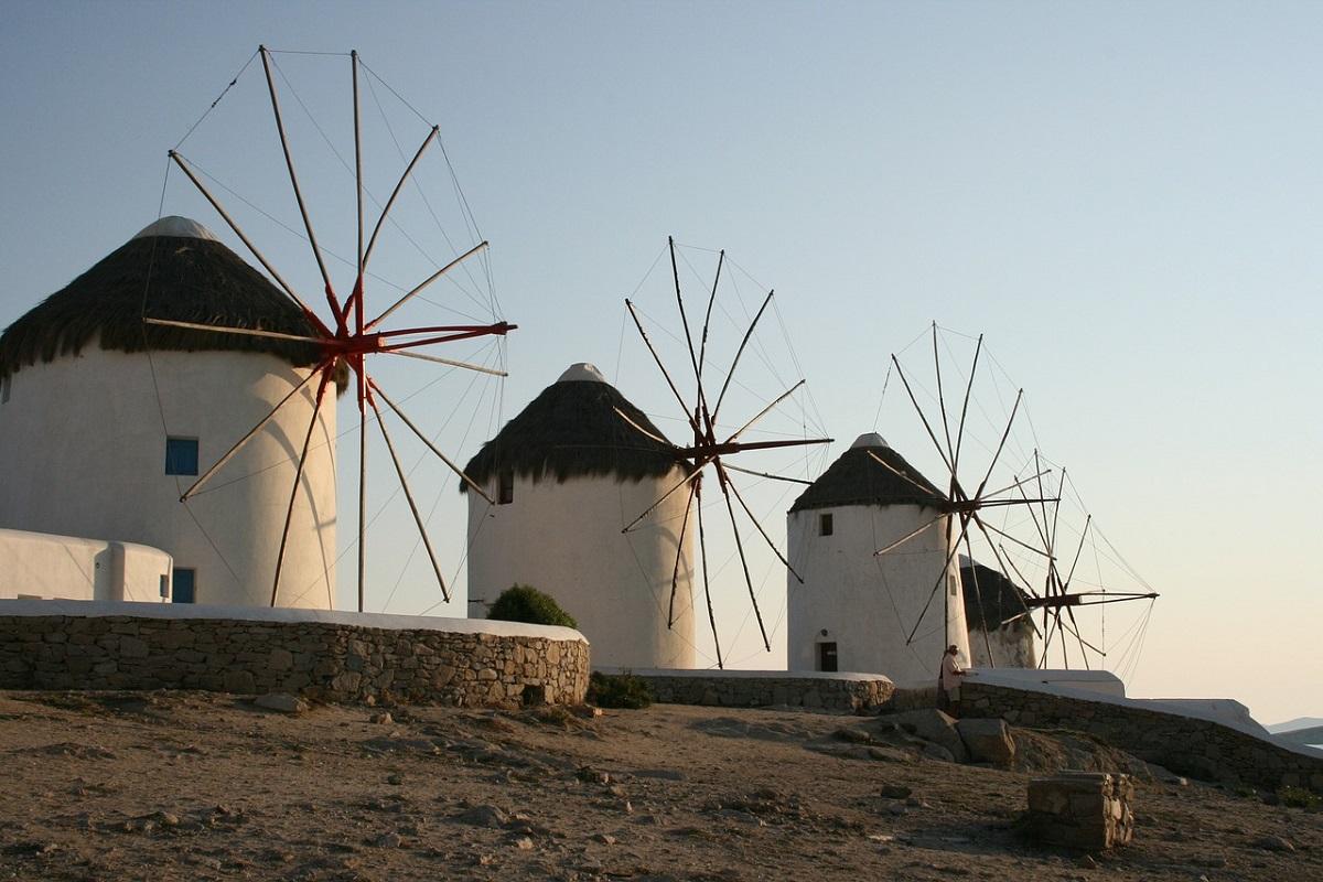 Mulini a vento Mykonos storia