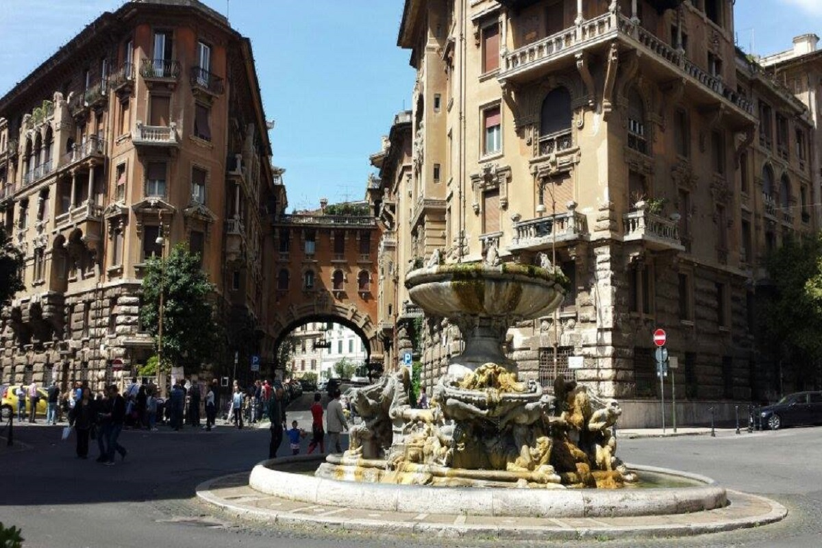 Piazza Mincio Roma