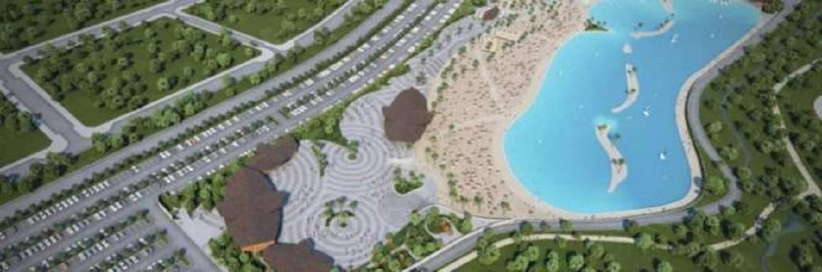 spiaggia artificiale madrid