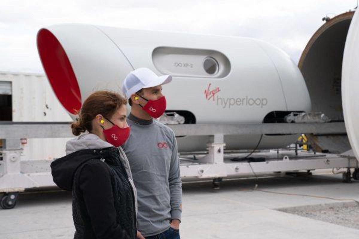 Treno supersonico Hyperloop di Virgin